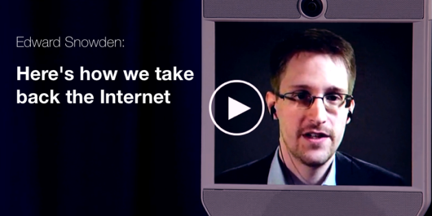 Edward Snowden Data Privacy