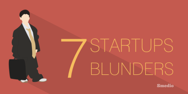 Online Startups Blunders