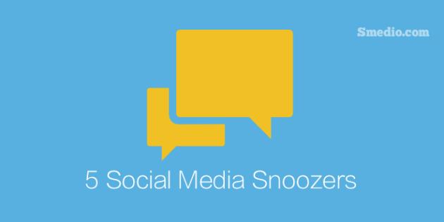 Social Media Snoozers