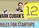 Mark Cuban Startup Rules