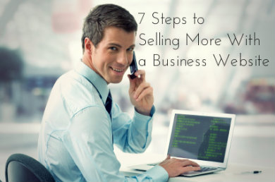 Selling with a Business Website