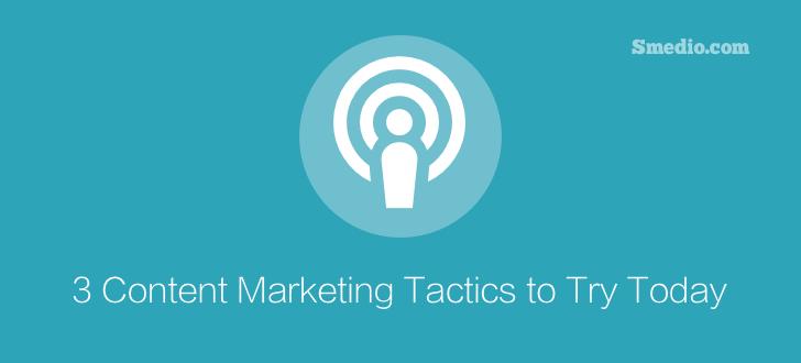 Content Marketing Tactics