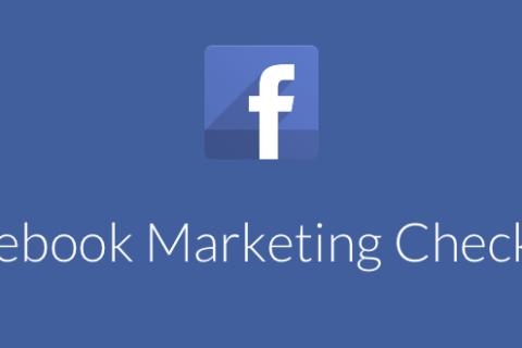 Facebook Marketing Checklist