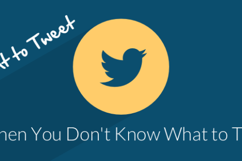 What to Tweet